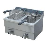 Quality Freezing Equipments 12L*2 Counter top Electric 2-Tank Fryer(2-Basket) for sale
