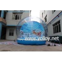 Best Inflatable Dome Tent Outdoor Inflatable Christmas Decoration Snow Ball wholesale