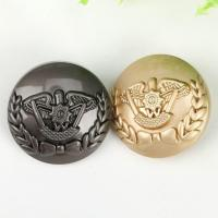 China Clothing accessories manufacturer sewing custom clothing metal buttons for coat on sale