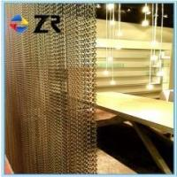 China Hanging decorative chain link curtain on sale
