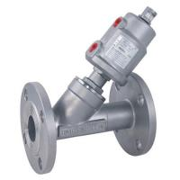 Buy cheap Flanged Angle Seat Valve with SUS Actuator from wholesalers
