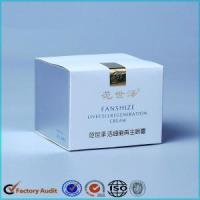Quality Eye Cream Skincare Packaging Paper Box for sale