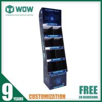 China POS Cardboard Product Display Stands for LED Stores on sale
