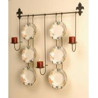 """Best Plate Rack - Six 10"""" - 11"""" Plates with Candle Holders wholesale"""