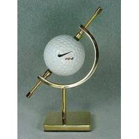 China Golf Ball Display Stand - Brass or Nickel Finish on sale