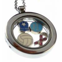 Jewelry by Theme Enamel charms with lobster clasp,peace sign C02-0113