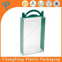 China Cheap Price 2017 New Styple Clear Customized Plastic Art and Craft Gift Packaging Box on sale