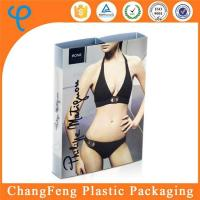 China Best Sell Logo Printed Women Underwear and Bra Plastic Packaging Box Factory on sale