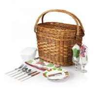 China Picnic Time Romance- Willow Natural with Nouveau Grapes for 2 on sale