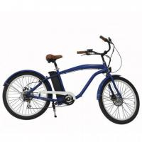 China Electric sight-seeing Cars New man beach cruiser electric bike en15194 bicycle pedal assisted e-bike on sale
