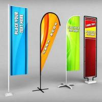 China 2017 Factory Wholesale Custom Promotional Flag Banners on sale