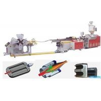 China PP/PE/PVC Single Wall Corrugated Pipe production line. on sale