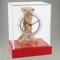 Best CLOCKS Coral Red/Glass Time Only-Brass W23047.R70762 wholesale