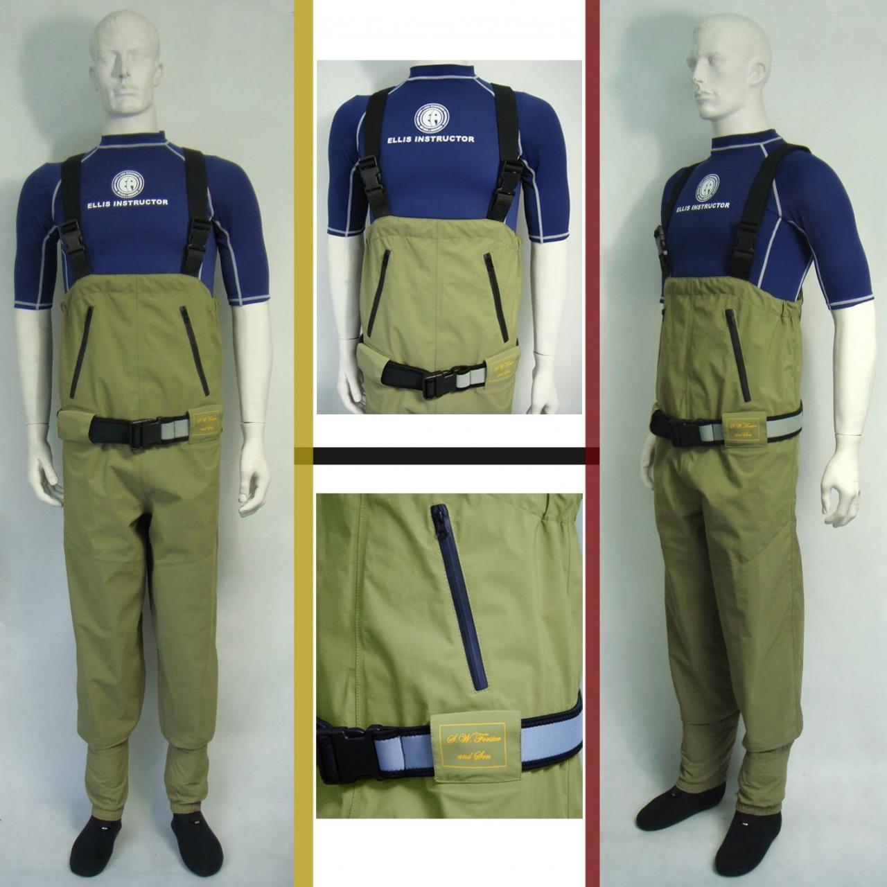 breathable chest fishing wader - HW04