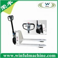 China 2000kg semi electric pallet truck on sale