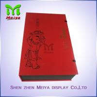 China Recyclable Tea Gift Boxes With Plastic Tray And Clasp , food gift boxes packaging on sale
