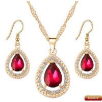 Buy cheap Fancy Crystal Jewelry Sets For Girls/Women from wholesalers