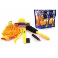 China 24027 Bicycle Cleaning Tool Set, Bike Tire Brush, Clean Gloves on sale