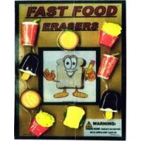 China Fast Food Erasers 1 Toy Capsules 250pcs on sale