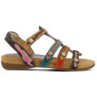 Spring Step Women's Gipsy Sandals (Brown Multi Leather) - 42.0 M