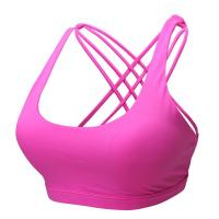 China CHJPro Seamless low-impact workouts Sport Bra Cross Back Yoga Running Bralette on sale