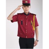 China Work uniform new style half sleeve hotel doorman security uniform on sale