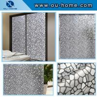 China R832 Self-adhesive frosted pvc decorative glass film on sale