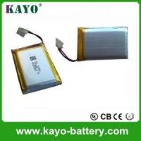 Best 3.7V/1,800mAh Lithium Polymer Battery For Label Printer wholesale