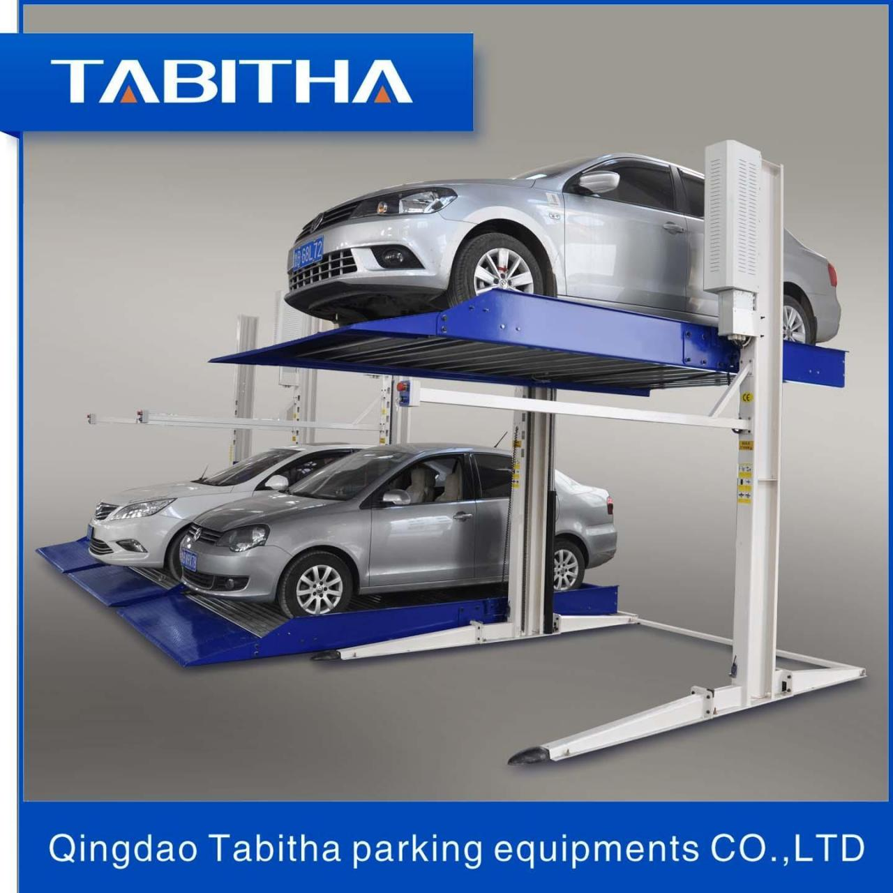 Quality Puzzle parking System TTPP606 Safe Two Post Auto-parking Lift Luxury for sale