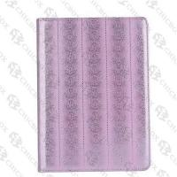 Buy cheap Black Lines 360  Turn-around Flip Leather Case with Logo Display For iPad 2_3_4 from wholesalers