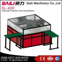 SL-400 Automatic pulp box grooving machine
