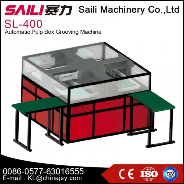 Buy SL-400 Automatic pulp box grooving machine at wholesale prices