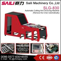 Quality SLG-830 Automatic cutting and grooving machine for sale