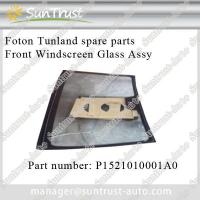 China Foton Tunland parts,Front Windshiled Glass Assy, P1521010001A0 on sale