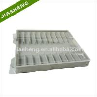 Quality Factory price Medical Plastic Tray for medicine bottles with Clear Cover for sale