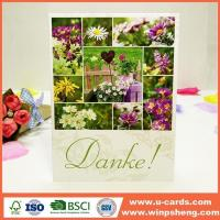 China Handmade Card Latest Product Special Making Handmade Paper Greeting Cards on sale