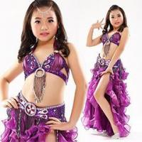 China Popular Children Dance Clothing Belly Dance Bra Costume,Belly Dance Kids Costume on sale