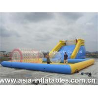 Inflatable Zorb Ramp and Water Pool Combo