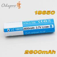 Buy cheap OdePro 18650 2600mAh rechargeable battery from wholesalers