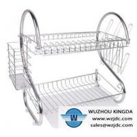China Stainless steel plate rack on sale