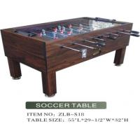 Buy cheap Glass Top Soccer Table from wholesalers