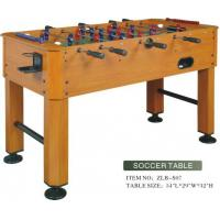 Buy cheap Wood Grain PVC Laminated Soccer Table from wholesalers