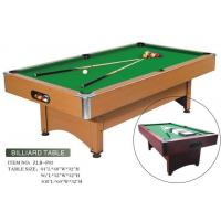 Best High Standard MDF Billiard Table wholesale