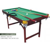 Quality Foldable Small Size MDF Billiard Table for sale