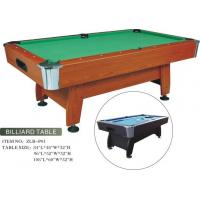 Quality Popular MDF Billiard Table for sale
