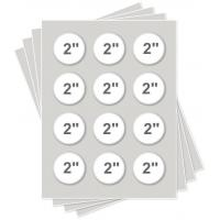 """Quality Icing Sheets 2.13"""" Round Icing Sheets for sale"""