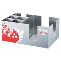 China BC001 Stainless Steel Barware Rectangle Bar Caddy Paper Holder Napkin Holder on sale