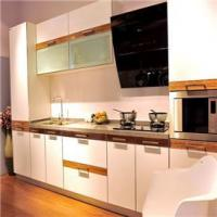 China kitchen Best selling attractive modern style glass kitchen design models on sale