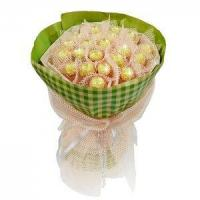 Quality Birthday bouquet of 21 pieces of ferrero rocher NO.3 delivery birthday for sale