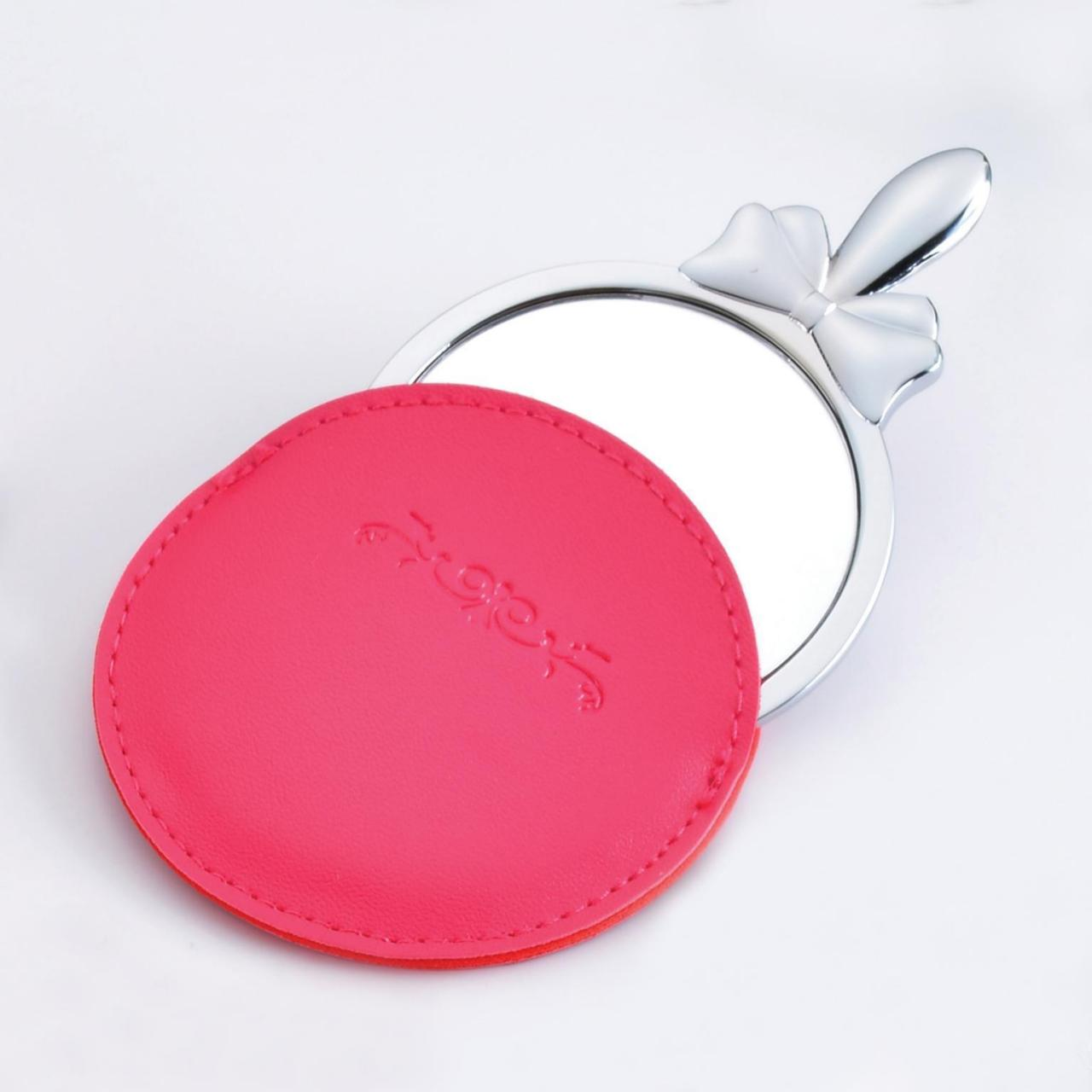 Quality Cosmetic Mirror with leather case for sale